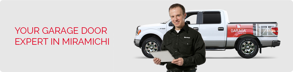 Your garage door expert in Miramichi
